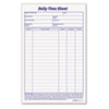 Tops TOPS® Daily Time and Job Sheets TOP 30041