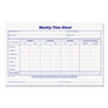 Tops TOPS® Weekly Time Sheets TOP 30071