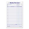 Tops TOPS® Weekly Employee Time Card TOP 3016