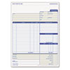 Tops TOPS® Job Invoice, Snap-Off® Triplicate Form TOP 3866