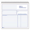 Tops TOPS® Spiralbound Service Invoice Book TOP 4133