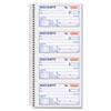 Tops TOPS® Money/Rent Receipt Spiral Book TOP 4161
