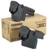 Toshiba Toshiba T2500 Toner, 7500 Page-Yield, 2/Carton, Black TOS T2500