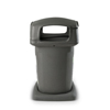 Toter 60 Gal. Graystone Park Trash Can with Gravity Lock Lid TOT860GA-56742