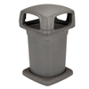 Toter 60 Gal. Graystone Park Trash Can with Lid TOT860GB-35865