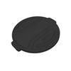 Toter 20 Gal. Round Trash Can Lid - Black TOTRND20-L0200
