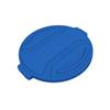Toter 20 Gal. Round Trash Can Lid - Blue TOTRND20-L0705