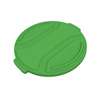 Toter 44 Gal. Round Trash Can Lid - Bright Lime Green TOTRND44-L0780