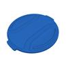 Toter 55 Gal. Round Trash Can Lid - Blue TOTRND55-L0705