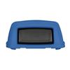 Toter Slimline 50 Gal. Square Trash Can Dome Top Lid - Blue TOT STL50-00BLU