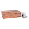 "Clean and Green: Tork® Universal Jumbo Bath Tissue Roll, 2-Ply, 8.8"" Dia."