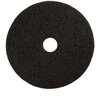 Floor Care Equipment: Treleoni - Black Stripping Pad - Conventional 17""