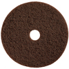 Floor Care Equipment: Treleoni - Brown Dry Stripping Pad
