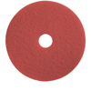 Floor Care Equipment: Treleoni - 40 Red Polishing/Cleaning Pad - Conventional 14""