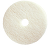 Floor Care Equipment: Treleoni - White Polishing Pad - Conventional 19""