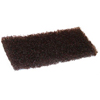 cleaning chemicals, brushes, hand wipers, sponges, squeegees: Treleoni - Brown Heavy Duty Utility Pad