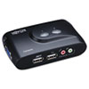 Tripp Lite Tripp Lite 2-Port Compact USB KVM Switch TRP B004VUA2KR