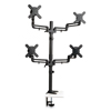 platforms stands and shelves: Tripp Lite Quad Monitor Mount Stand