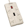 Resin Sheds 8 Foot: Tripp Lite Protect It!™ Eight-Outlet Surge Suppressor