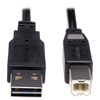 usb cables: Tripp Lite USB 2.0 Gold Cable