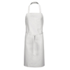 Chef Designs Bib Apron with Pencil Pocket UNF1751WH-30-33