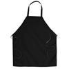 Chef Designs Unisex Standard Bib Apron UNF 2500BK-27-31