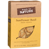 Back To Nature Sunflower & Basil Crackers BFG 89622