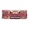 Edward & Sons Tamari Sesame Rice Snaps BFG 36162