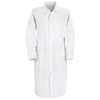 Red Kap Mens Gripper-Front Butcher Frock UNF 4004WH-RG-4XL