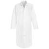 Red Kap Mens Gripper-Front Butcher Frock UNF 4006WH-RG-XL
