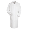 Red Kap Mens Gripper-Front Butcher Frock UNF 4016WH-RG-3XL