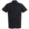 workwear unisex shirts: Chef Designs - Unisex Spun Poly Long Cook Shirt