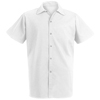 Chef Designs Mens Spun Poly Long Cook Shirt UNF 5035WH-SS-4XL