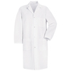Red Kap Men's Lab Coat UNF5080WH-RG-3XL