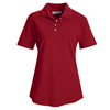 Red Kap Womens Basic Pique Polo Shirt UNF 5702BR-SS-M