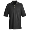 Red Kap Mens Basic Pique Polo Shirt UNF 7701BK-SS-M