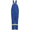 workwear overalls: Bulwark - Men's Nomex® IIIA Deluxe Insulated Bib Overall with Reflective Trim