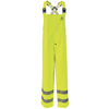 workwear rainwear: Bulwark - Men's Hi-Vis Flame-Resistant Rain Bib Overall HRC2