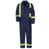 flame resistant: Bulwark - Men's EXCEL FR® Classic Coverall with Reflective Trim