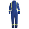 workwear: Bulwark - Men's EXCEL FR® ComforTouch® Premium Coverall with Reflective Trim