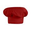 Chef Designs Men's Chef Hat UNFHP60RD-RG-L