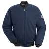 Bulwark Mens EXCEL FR® Team Jacket UNF JET2NV-LN-XL