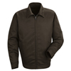 mens jackets: Red Kap - Men's Slash Pocket Jacket