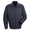 workwear 2xl: Red Kap - Men's Slash Pocket Jacket