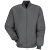 Red Kap Mens Solid Team Jacket UNF JT38CH-RG-XL