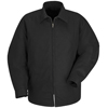 Red Kap Mens Perma-Lined Panel Jacket UNF JT50BK-RG-6XL