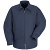 workwear jackets: Red Kap - Men's Perma-Lined Panel Jacket
