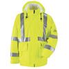 Bulwark: Bulwark - Men's Hi-Vis Flame-Resistant Rain Jacket HRC2