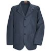 Red Kap Mens Lapel Counter Coat UNF KP10NV-RG-L
