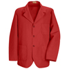 Red Kap Mens Lapel Counter Coat UNF KP10RD-RG-XL